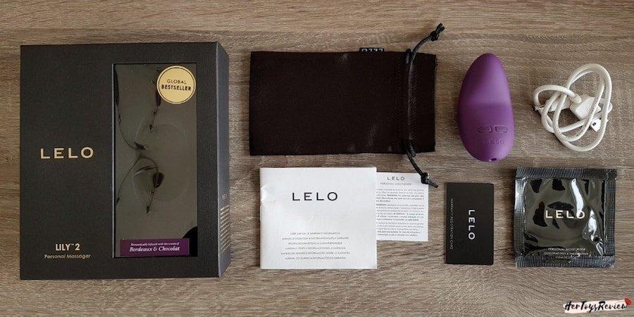 Lelo lily 2 box