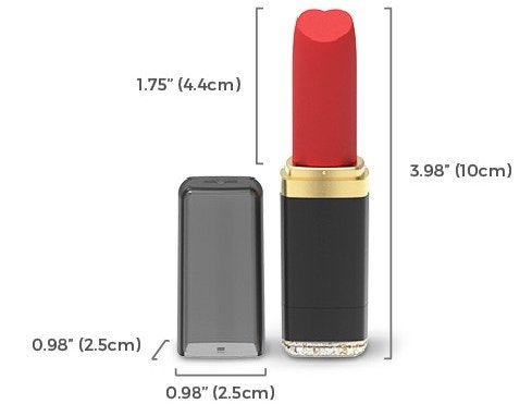 vibease smart lipstick size