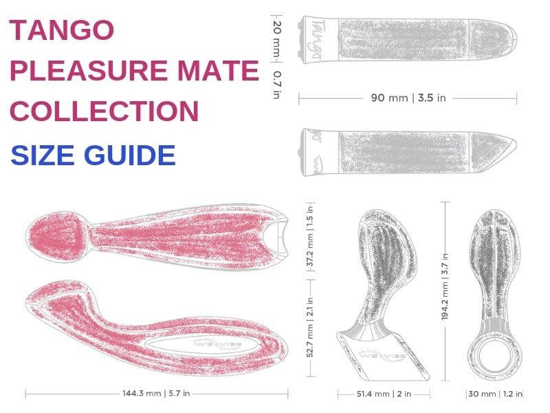 we-vibe pleasure mate collection