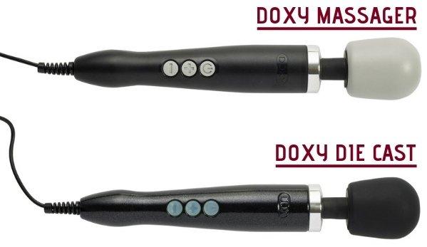 DOXY MASSAGER VS DIE CAST