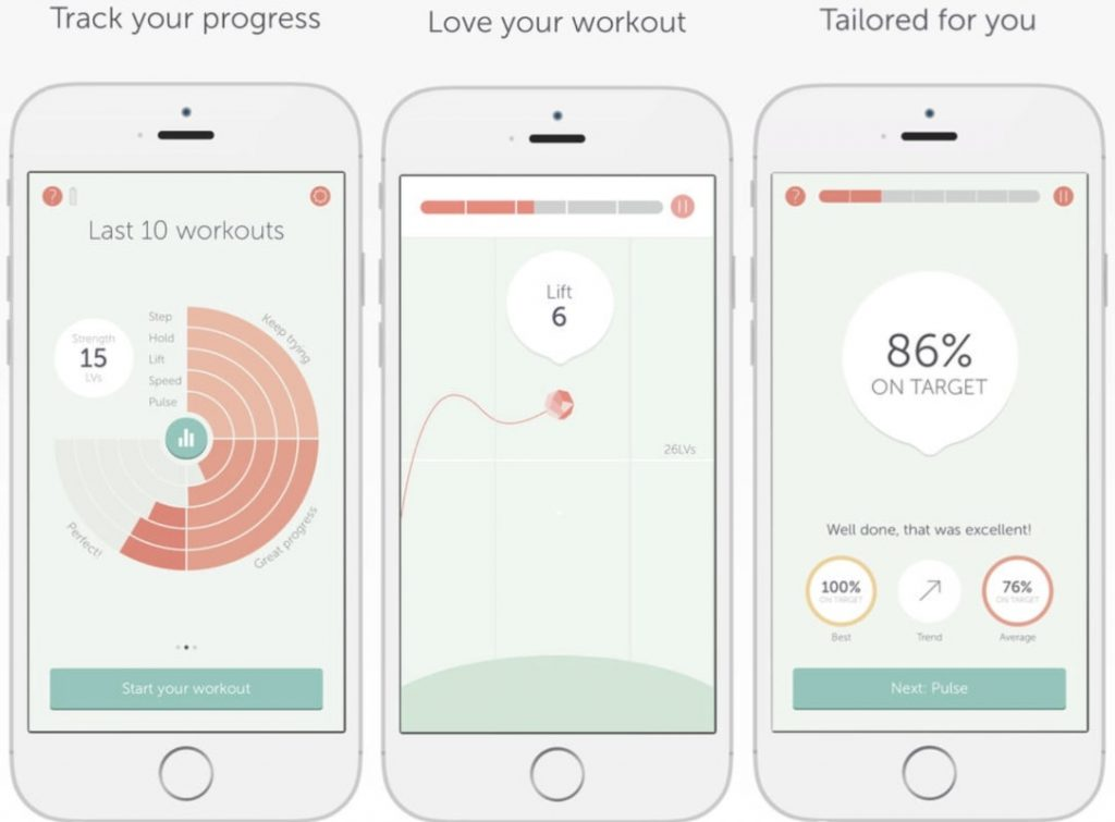 Elvie trainer app