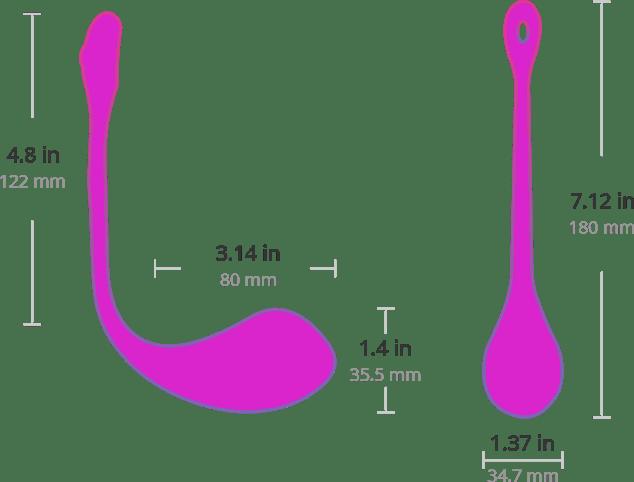 lovense lush 2-size