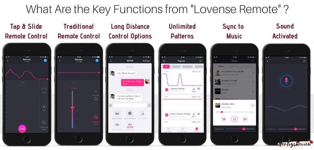 lovense lush 2 key app features