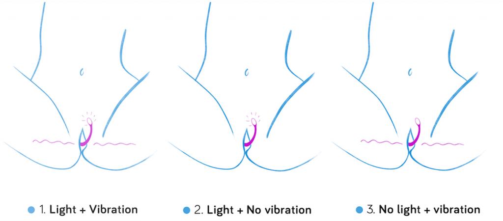 esca 2 light vibration