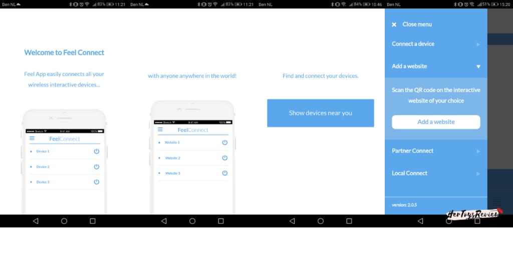 kiiroo Onyx plus app