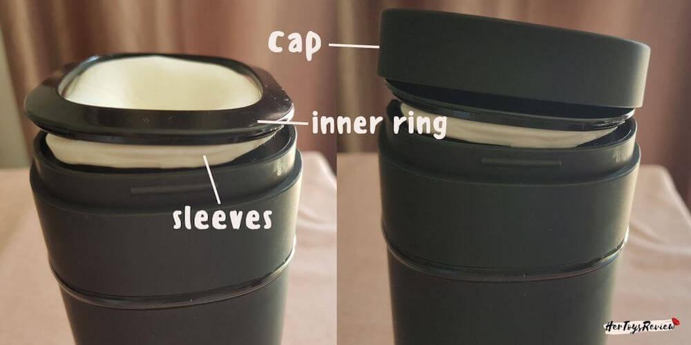 kiiroo Onyx plus cap ring