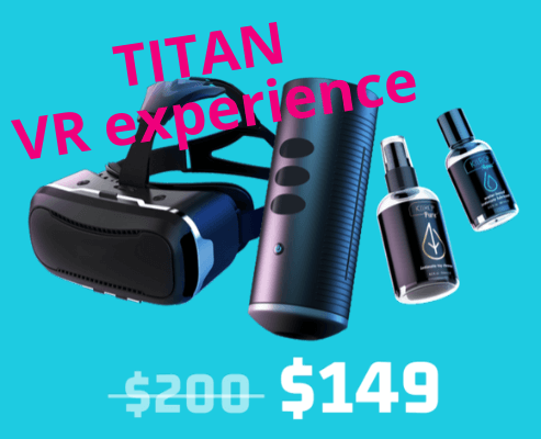 TITAN VR experience SALE