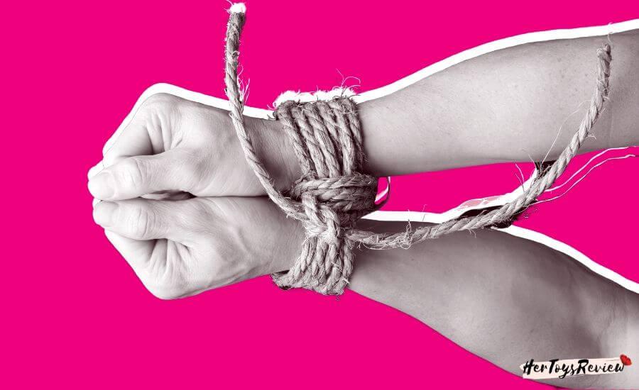 bondage shibari hand