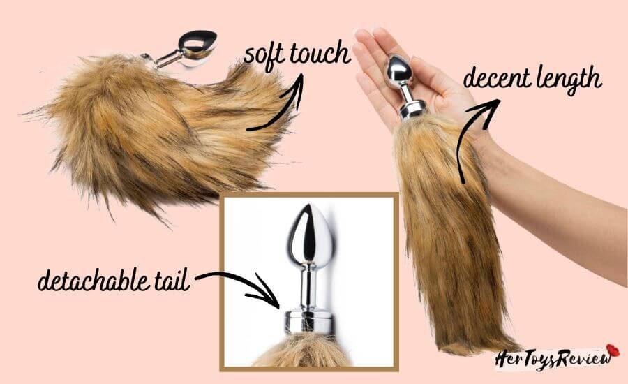 lovehoney fox tail butt plug