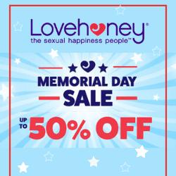 lovehoney memorial day sale 2020