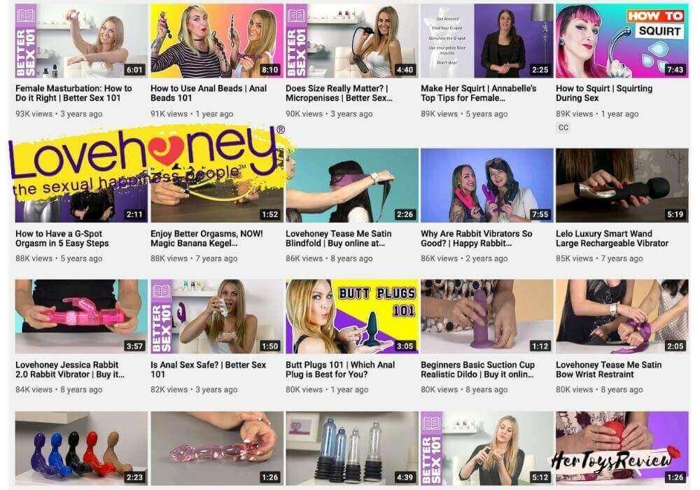 lovehoney youtube