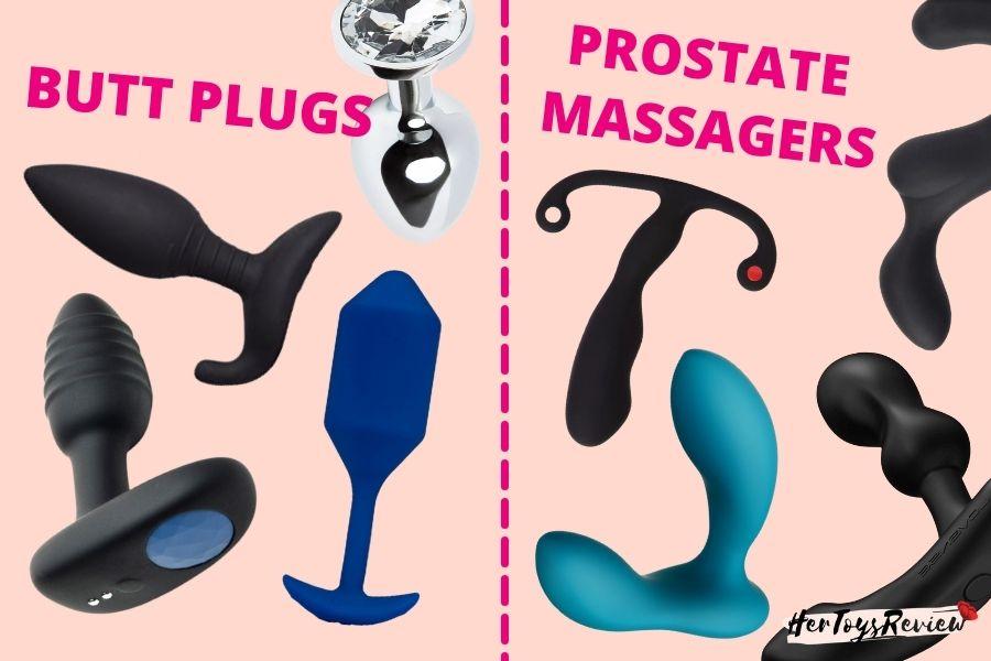 BUTT PLUG vs prostate massager